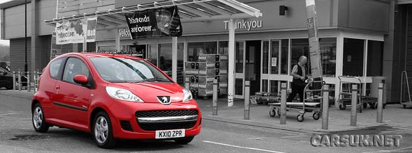 The Peugeot 107 Verve Review Road Test