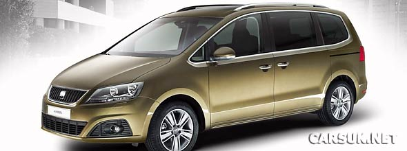 The SEAT Alhambra 2011