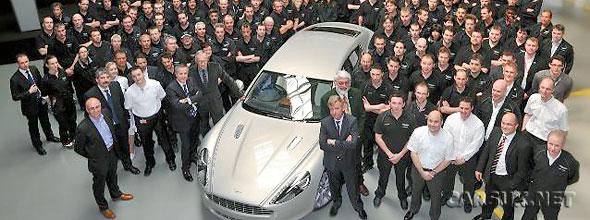 Aston Martin Rapide 1st Customer Car