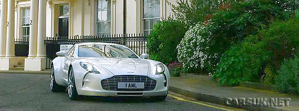 Aston Martin One 77 White. The Aston Martin One-77 in