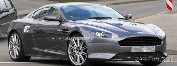 The Aston Martin DB9 Facelift 2011
