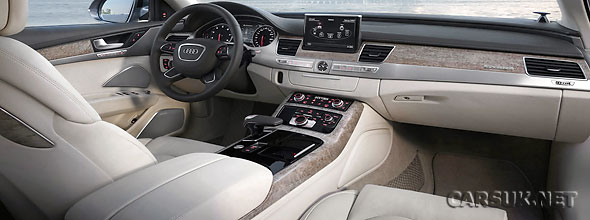 Audi A8 2011 Interior. The Audi A8 interior - your
