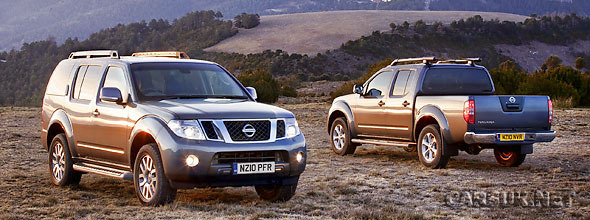The Nissan Navara & Nissan Pathfinder