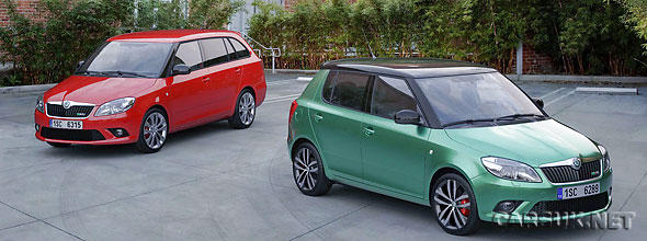 Skoda Fabia vRS & Skoda Fabia vRS Estate: UK price & detail