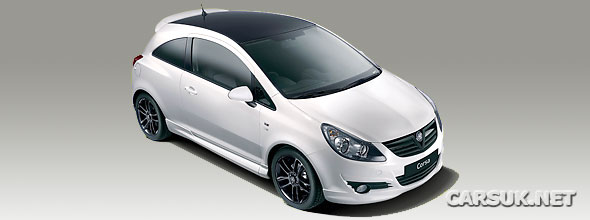 Vauxhall Corsa Black & White Limited Edition launches