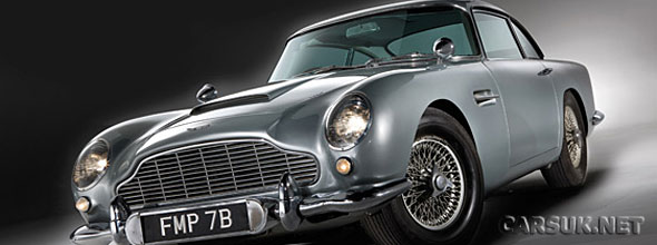 The Aston Martin DB5 James Bond