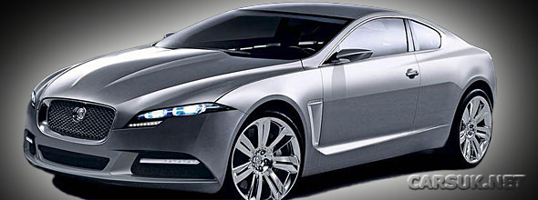 The Jaguar XF Coupe 2011