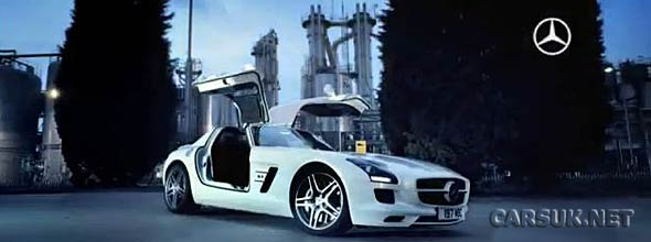 The Mercedes SLS AMG UK