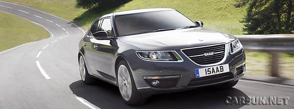 The New Saab 9-5 UK