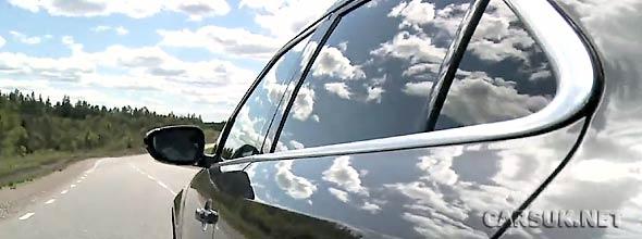 The Saab 9-5 on the Track