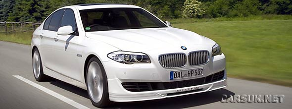The Alpina B5 Bi-Turbo 2011