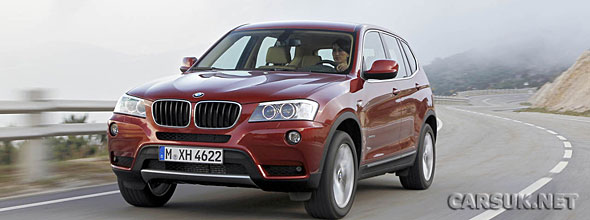 Bmw X3 2010. The 2011 BMW X3 - Official