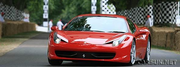 The Ferrari 458 Italia Goodwood Festival of Speed 2010