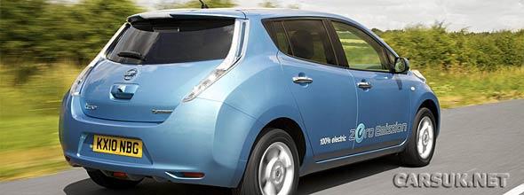 The Nissan Leaf on sale UK
