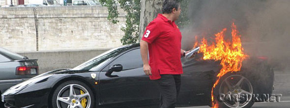 The Ferrari 458 Italia Fire