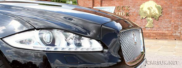 Jaguar XJ Front View
