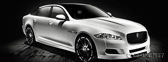 The Jaguar XJ75 Platinum Concept
