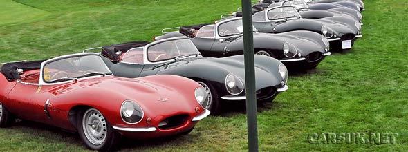 Jaguar XKSS at Pebble Beach