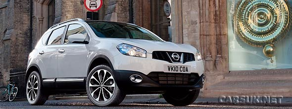The Nissan Qashqai n-tec 2011 with its posh new alloys