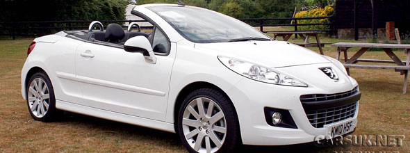 The Peugeot 207 CC Review