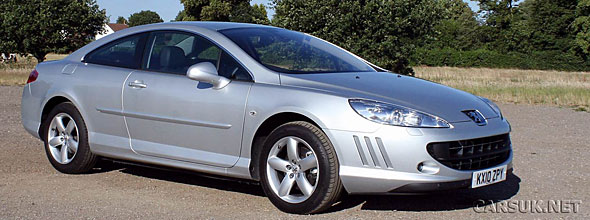 peugeot 407 coupe hdi 163 review road test 2010. Black Bedroom Furniture Sets. Home Design Ideas