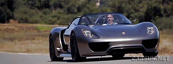 The Porsche 918 Spyder in Monterey