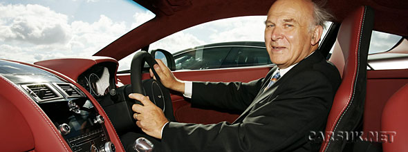 Vince Cable Aston Martin
