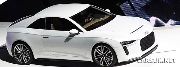 The Audi Quattro Concept Paris