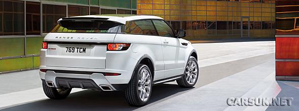 The Range Rover Evoque Dynamic Video