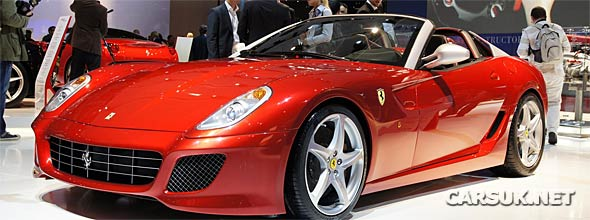 The Ferrari SA APERTA unveiled in Paris