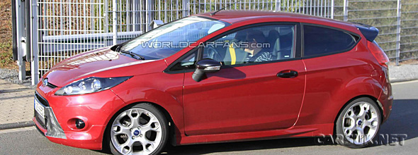 Ford Fiesta ST Spy Shot