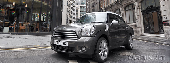 The MINI Countryman UK