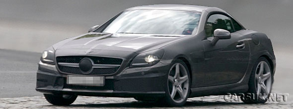 The Mercedes SLK 2011 Spy