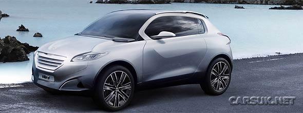 The Peugeot HR1 Concept