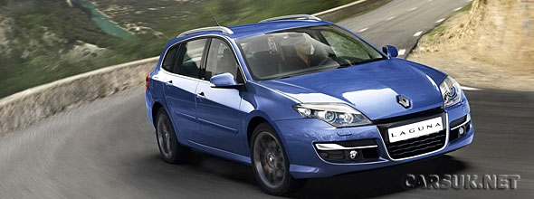The Renault Laguna Facelift 2011