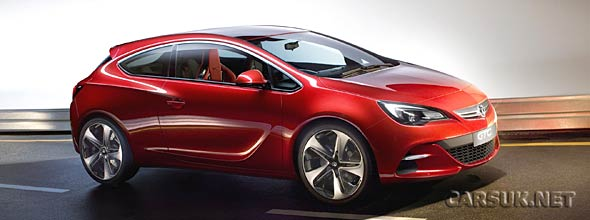 The Vauxhall Astra GTC Concept