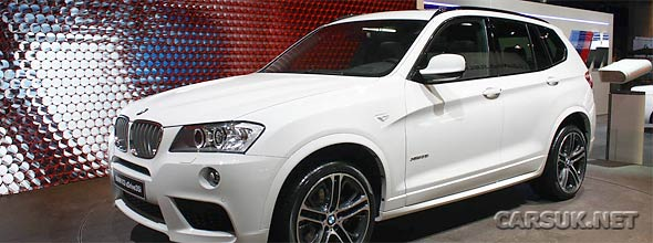 The 2011 BMW X3 Paris Motor Show
