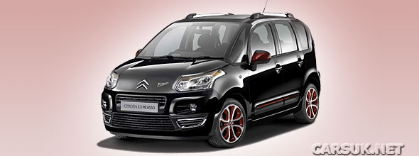 The Citroen C3 Picasso BLACKCHERRY
