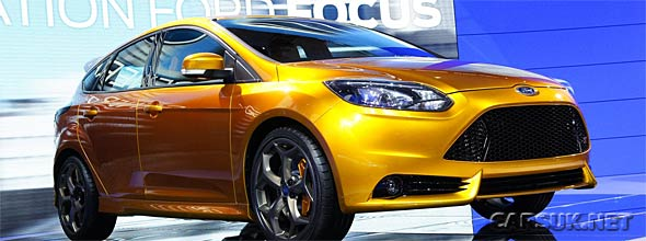 The 2012 Ford Focus ST Paris