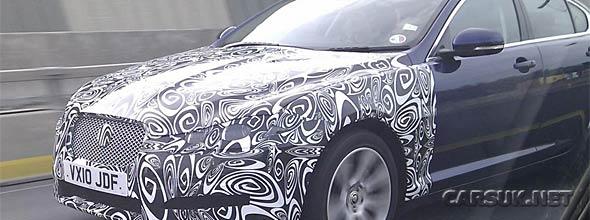 The Jaguar XF 2.2 Diesel Spy Photo