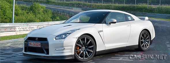 The Nissan GT-R 2011