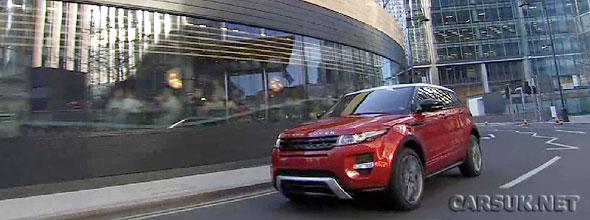 The Range Rover Evoque 5 Door Video