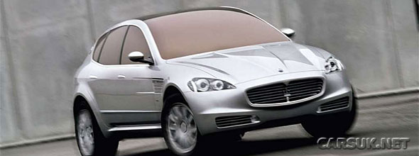 The Maserati Kubang Concept
