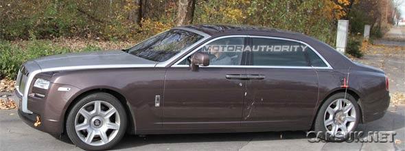 The Rolls Royce Ghost LWB