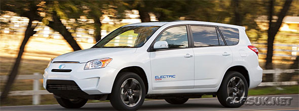 The Tesla Toyota RAV4 EV