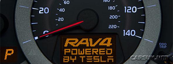 Toyota RAV4 Powered by Tesla