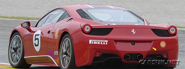 The Ferrari 458 Challenge