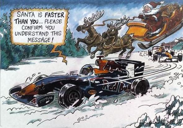 Red Bull's 2010 Christmas Card