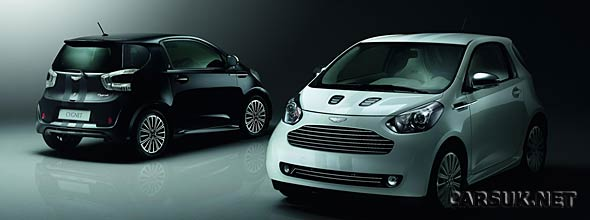 The Aston Martin Cygnet Launch Editions