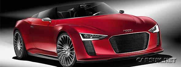 Audi e-Tron Spyder CES